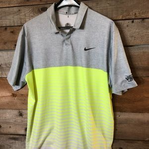 Tiger woods collection  Dri fit golf shirt Large